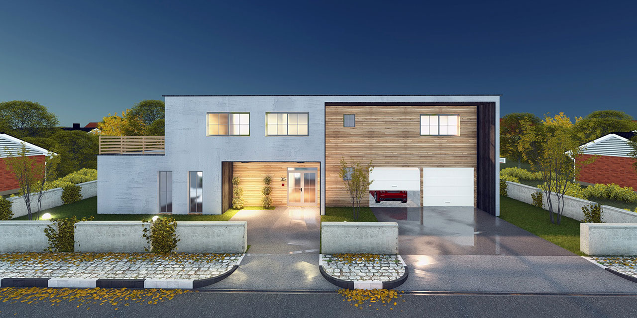 Renco edgewater house for Edgewater homes